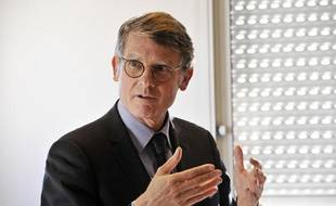 Le ministre de l'Education national Vincent Peillon, à Nice, le 10 janvier 2014.
