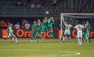 Sadio Mané (à g.) avait buté sur la défense algérienne lors du match de poule.