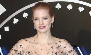 L'actrice Jessica Chastain