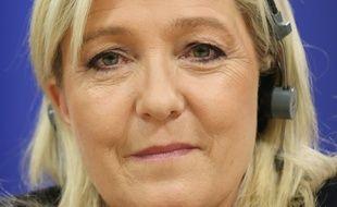 Marine Le Pen, à Bruxelles, le 16 juin 2015.