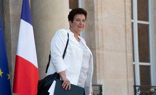 La ministre de l'Education supérieure Frédérique Vidal le 6 juillet 2018 devant l'Elysée.