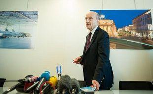 Le maire de Bordeaux et ancien Premier ministre Alain Juppé, le 22 novembre 2012, à la mairie de Bordeaux.