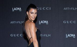 La star de la télé-réalité Kourtney Kardashian