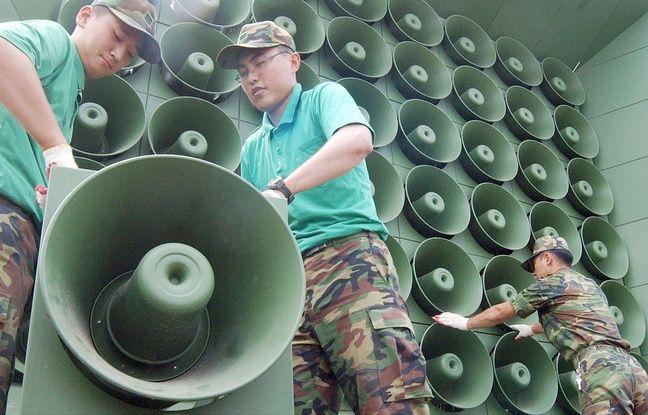 nouvel ordre mondial | Corée: Séoul arrête les haut-parleurs qui diffusaient K-pop et propagande à la frontière avec le Nord
