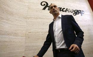 Luis Rubiales, président de la fédération de football espagnole.