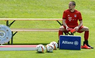 Franck Ribéry en juin 2015.