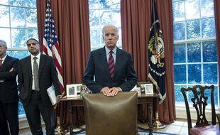 Le vice-président américain Joe Biden dans le bureau ovale, à la Maison Blanche, le 13 septembre 2013.