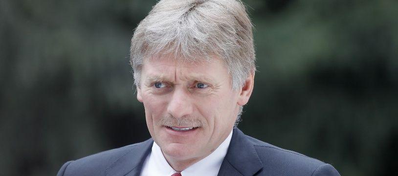 Le porte-parole du Kremlin, Dmitri Peskov.