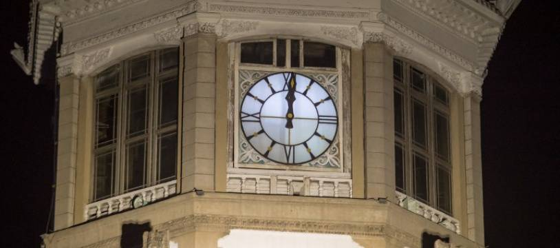 L'horloge de la gare nord-coréenne de Pyongyang (image d'illustration).