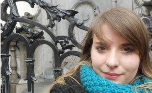 Claire, étudiante strasbourgeoise de 21 ans, a échappé de peu aux attentats à Bruxelles.