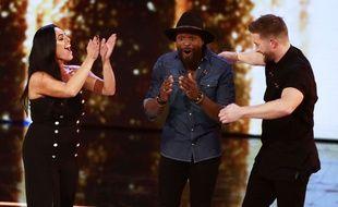 Tracy Leanne Jefford, Kevin Davy White et Matt Linnen, trois candidats du «X Factor» britannique, le 5 novembre 2017.