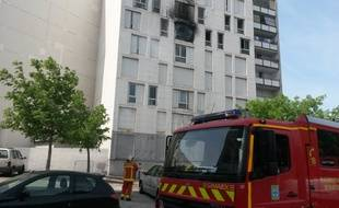 Un incendie a ravagé un appartement à la Savine dimanche matin.
