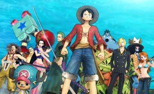 Les personnages de One Piece : Pirates Warriors 3.