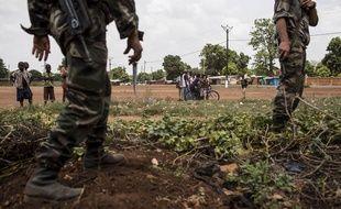 Illustration de soldats français de l'opération Sangari en RDC.