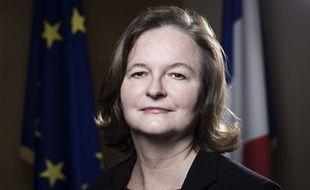 Nathalie Loiseau, ministre chargée des Affaires européennes, dans son bureau, le 21 décembre 2017.