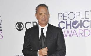 L'acteur Tom Hanks aux People's Choice Awards 2017