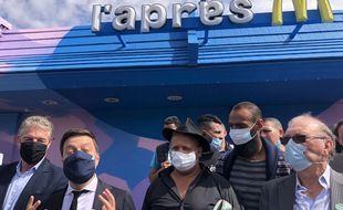Le maire de Marseille a annoncé racheter les murs de ce McDonald's au coeur des quartiers Nord