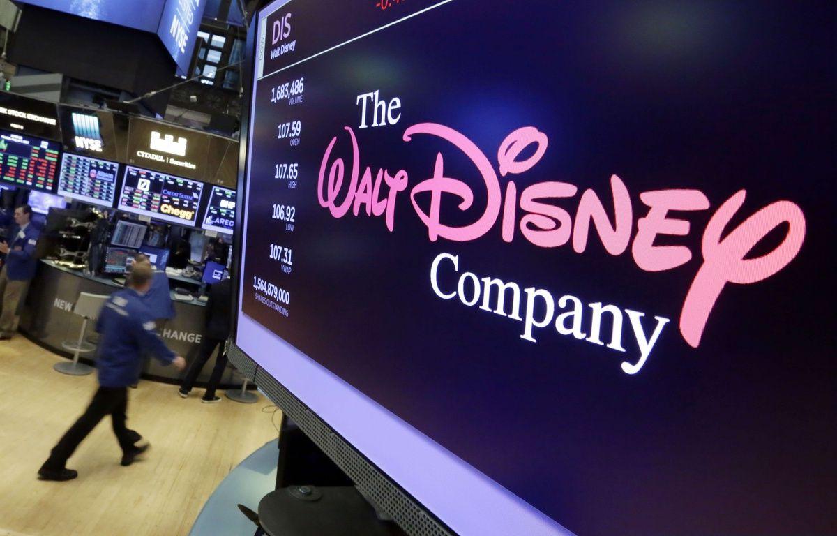 Le logo de Disney au New-York Stock Exchange (NYSE), le 7 août 2017.  – Richard Drew/AP/SIPA