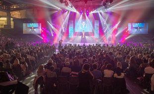 Les gens étaient venus nombreux samedi soir à Orchies (Nord) pour l'élection de Miss Nord-Pas-de-Calais.