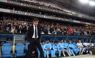Michel le 10 avril 2016 au Stade Vélodrome à Marseille