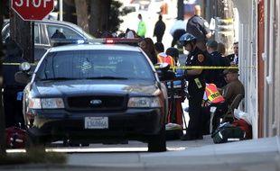 Une fusillade a éclaté dans les locaux d'UPS à San Francisco, le 14 juin 2017.