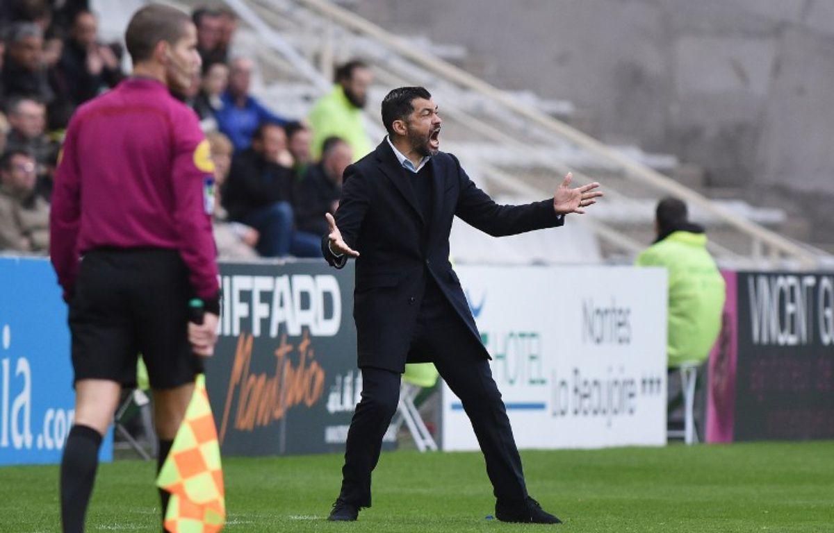 L'entraîneur Sergio Conceição. – JEAN-SEBASTIEN EVRARD / AFP