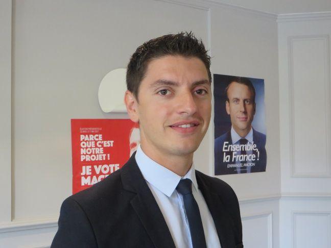 Mickaël Nogal, député de la 4e circonscription de la Haute-Garonne.