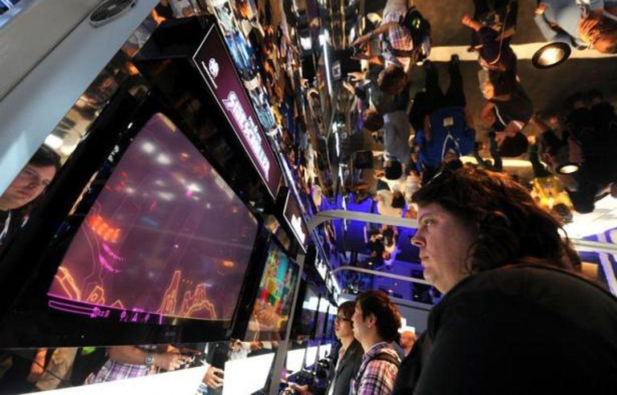 Les déclinaisons pour smartphones et tablettes électroniques des jeux à succès sur consoles vont tenir la vedette au salon E3, la grand-messe annuelle des jeux vidéo, qui s'ouvre mardi à Los Angeles. – Gabriel Bouys afp.com