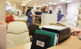 Coronavirus: Toujours moins de patients à l'hôpital  (Illustration)