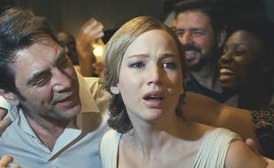 Javier Bardem et Jennifer Lawrence dans «Mother!».