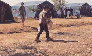 Au camp de Kanjiža, en Serbie, les réfugiés restent quelques jours, parfois quelques heures avant de reprendre le route, direction la Hongrie.