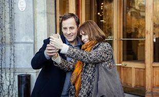 Fred Testot et Marie-Josée Croze dans le téléfilm L'épreuve d'amour