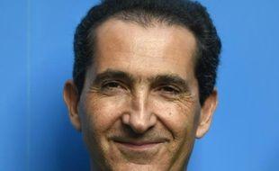 L'homme d'affaires Patrick Drahi, patron d'Altice (SFR, Numericable), le 24 juin 2015 à Paris