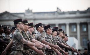 L'armée française.