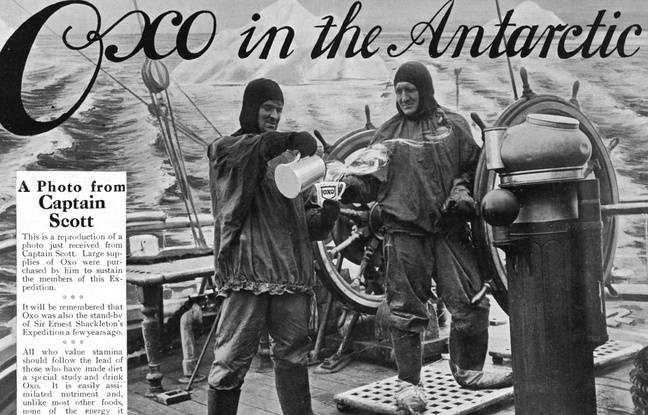 Expédition Terra Nova sur l'Antarctique en 1912