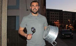 Nasser Zefzafi, un activiste marocain à la tête du mouvement de contestation dans le Rif le 6 mai 2017.