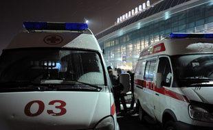 Illustration d'une ambulance russe