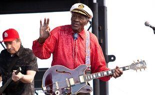 Chuck Berry sur scène
