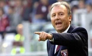 L'entraîneur italien Alberto Zaccheroni, le 15 octobre 2006 lors d'un match du Torino, contre le Chievo.