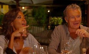 Karine Le Marchand et Franck Dubosc dans «Une ambition intime».