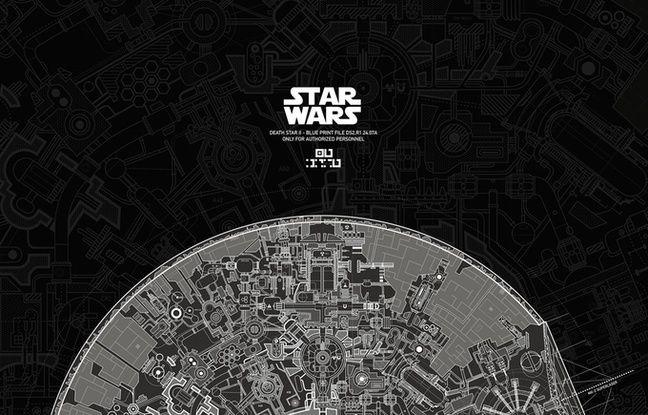 Video star wars un passionn a imagin les plans exacts de l 39 etoile n - L etoile noire star wars ...