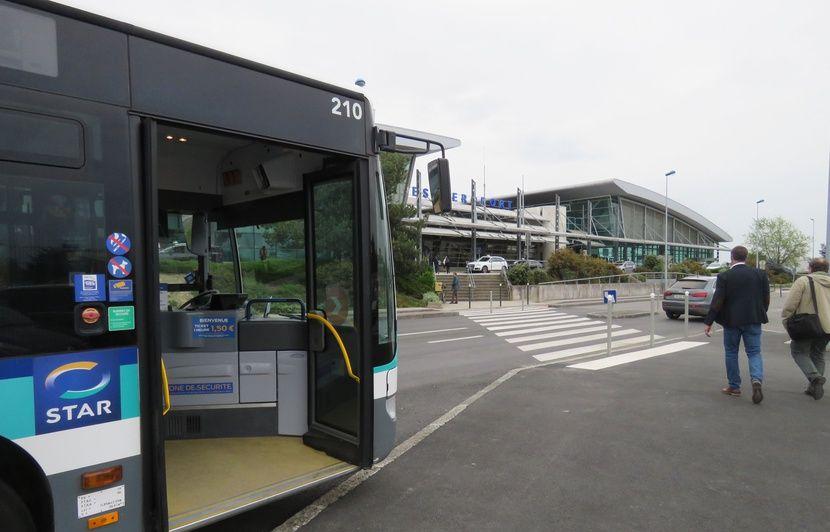 Rennes : L'aéroport enfin desservi par une ligne de bus régulière