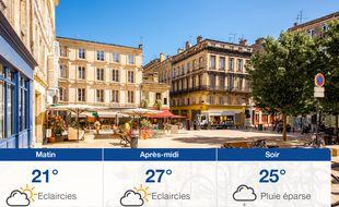 Météo Bordeaux: Prévisions du samedi 21 septembre 2019