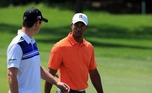 L'Américain Bill Haas et l'Anglais Justin Rose sont en tête du tournoi Arnold Palmer Invitational, comptant pour le circuit PGA, à l'issue du 2e tour disputé vendredi à Orlando, alors que Tiger Woods pointe en 7e position avec 4 coups de retard.