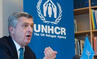 Le Haut-commissaire aux Réfugiés, Filippo Grandi, le 6 avril 2016 à Stockholm