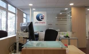 Un bureau Pôle Emploi à Marseille en avril 2016.