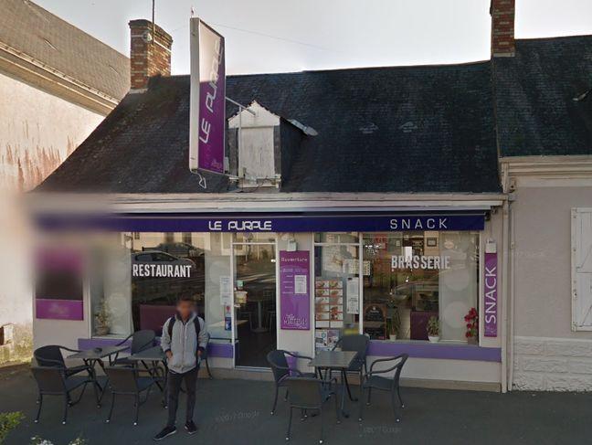 Le bar-restaurant, le Purple, tenu par Nathalie Huynh.