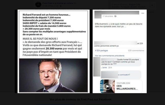 Ce message d'indignation a été partagé sur plusieurs groupes et pages Facebook.