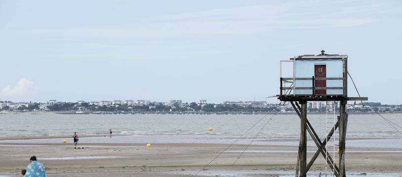 La plage de Saint-Brévin, en Loire-Atlantique (illustration)
