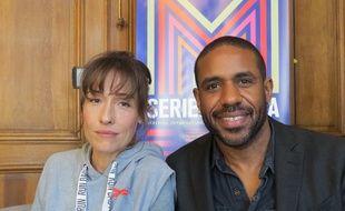 Annelise Hesme et Loup-Denis Elion, les deux acteurs principaux du téléfilm de France 3, «Meurtres à Lille».
